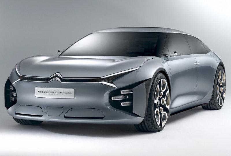 За месяц до дебюта в Париже компания Citroen рассекретила прототип будущего большого седана CXperience, совсем не похожего на седан.
