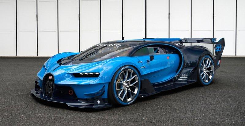 Машина от  Bugatti Volkswagen