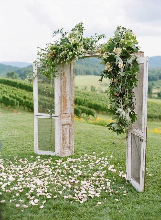 Декорации для свадьбы в стиле прованс