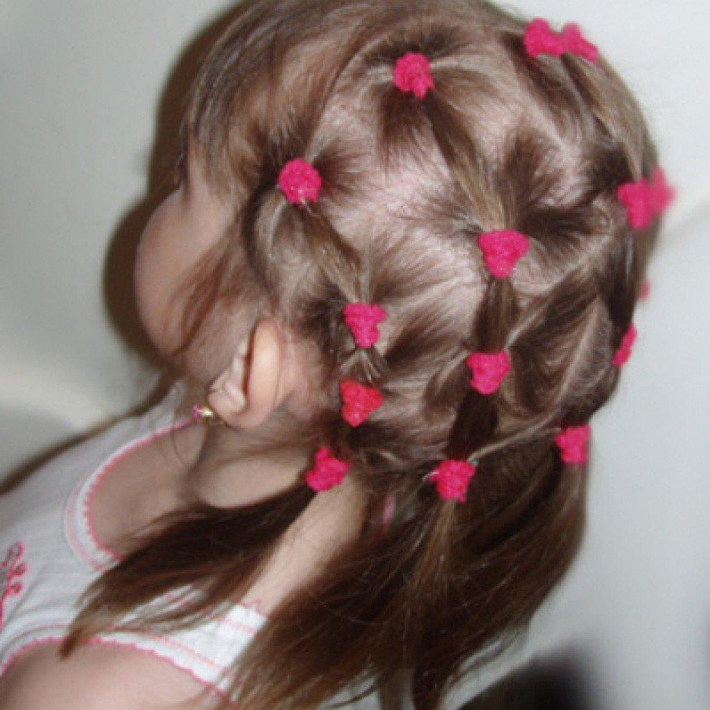 Плетение косичек пошаговое фото для девочек.