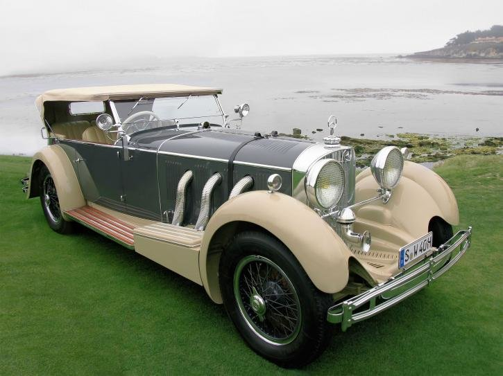 Mercedes-Benz 710SS Four Seater Cabriolet