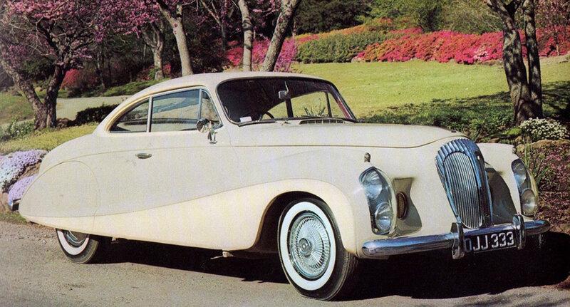 Daimler Silver Flash