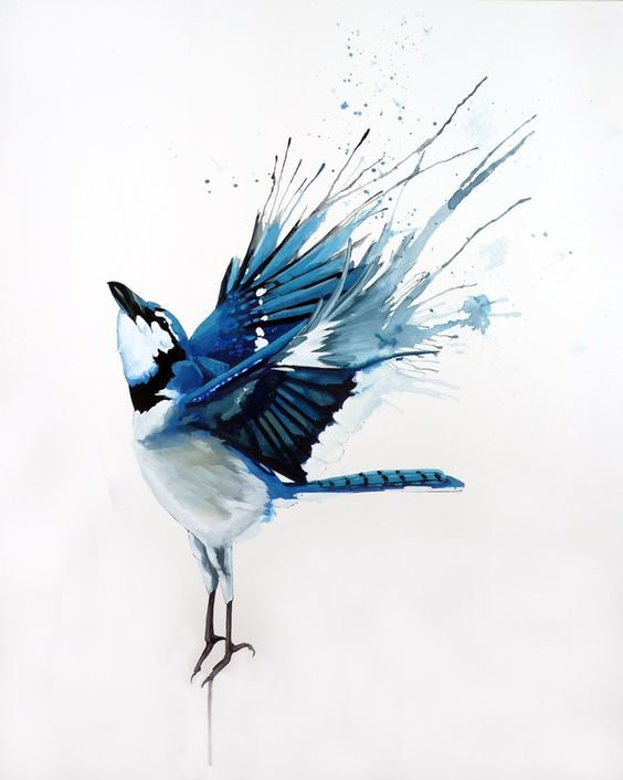 elements of art in the reproduction of the blue bird essay