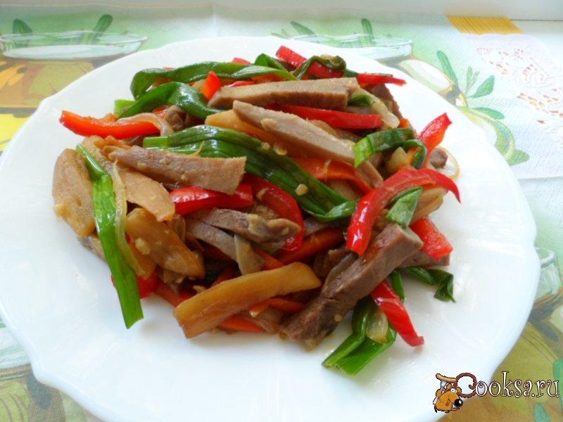 Рецепты салатов с фото с языка