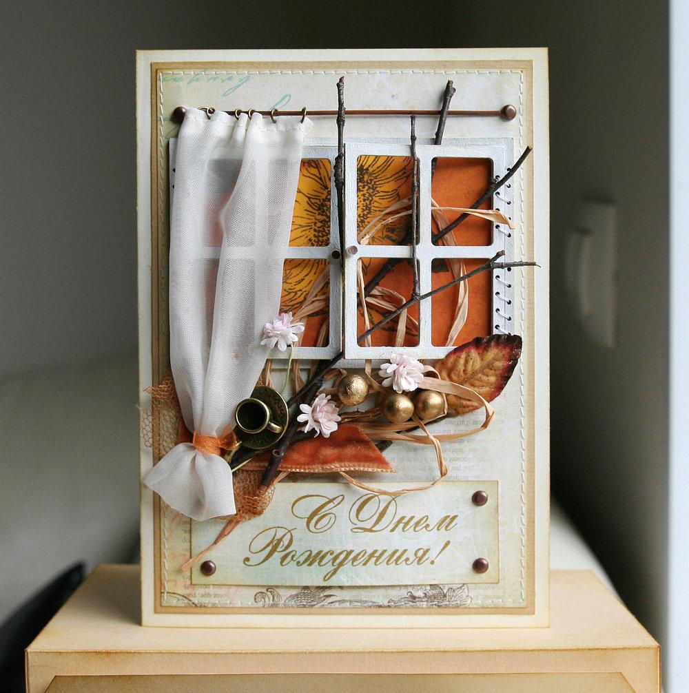 Свадебный, необычная открытка скрапбукинг