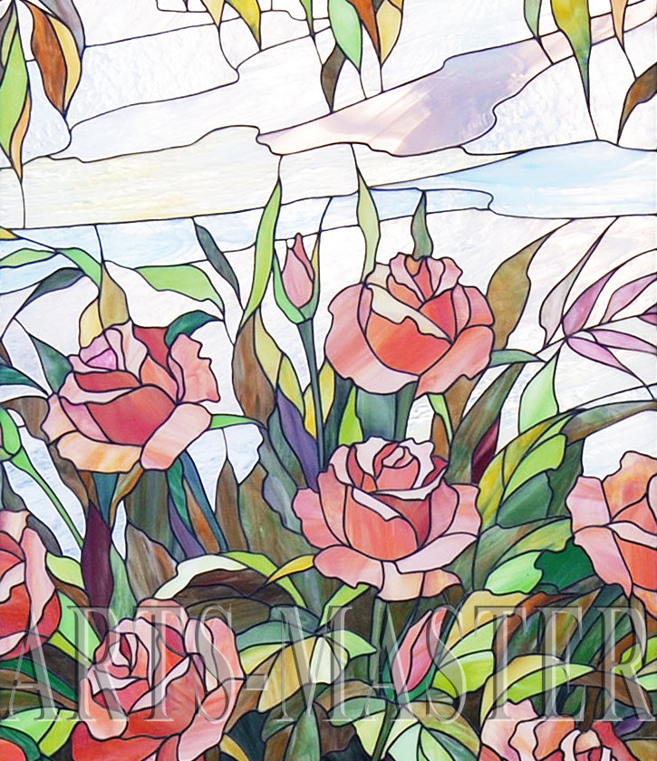 картинки витражей с цветами барнауле, купить товары