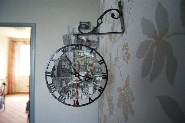 Часы настенные Старый Лондон