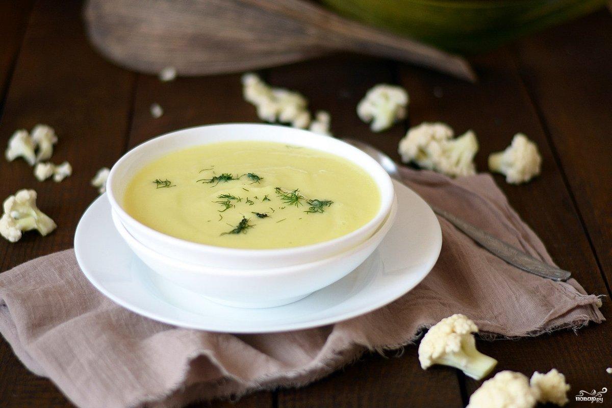 суп пюре из капусты для похудения