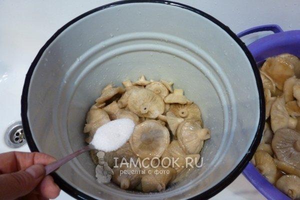 соленые грузди рецепт холодным способом с фото
