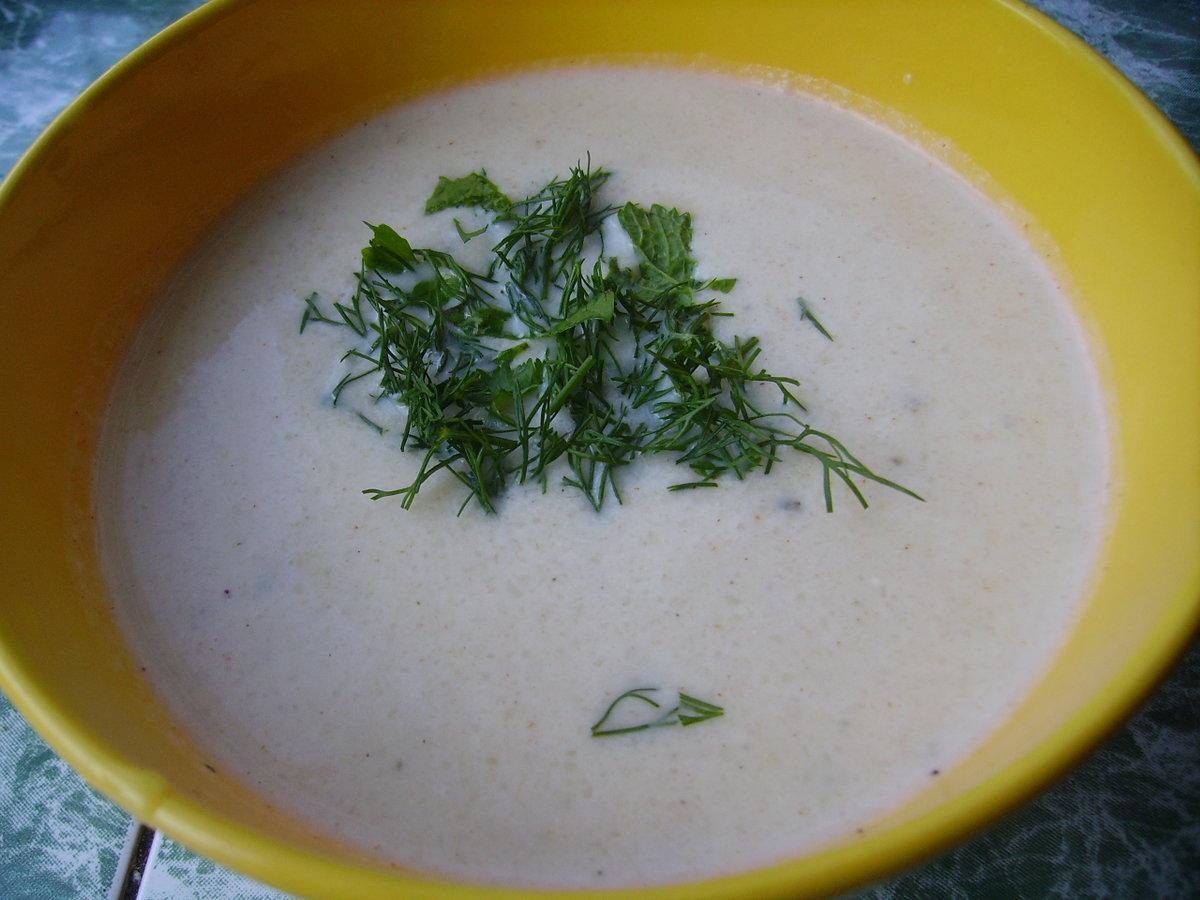 суп-крем из цветной капусты диетический
