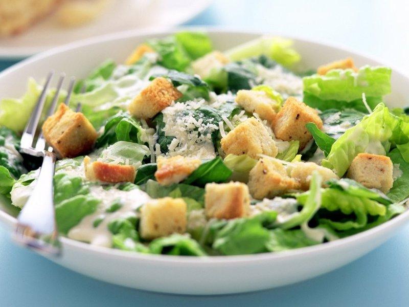 рецепты салата цезаря фото