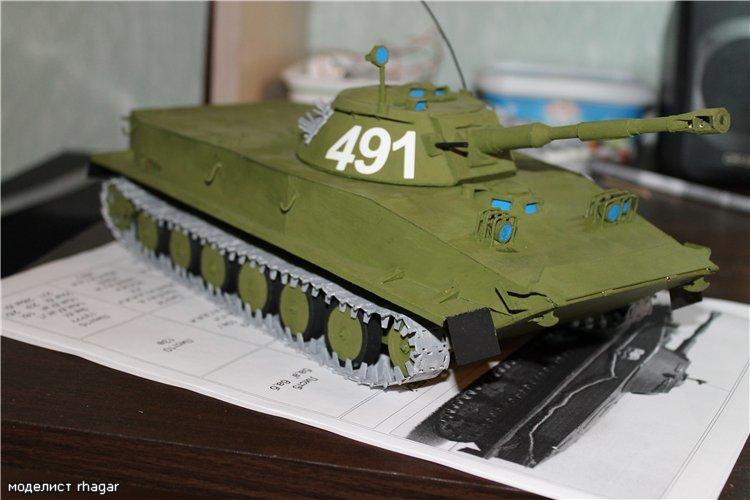 Модели танков и бронетехники из бумаги своими руками.: Все 99
