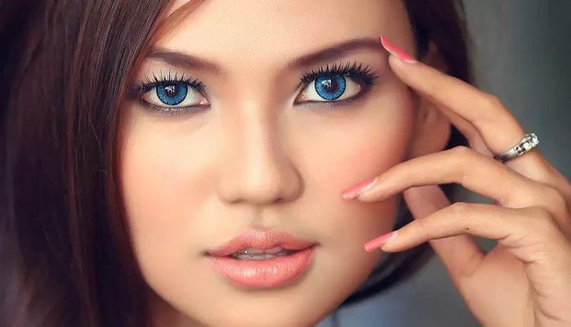 Красивое лицо без косметики 68