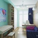 Интерьер и дизайн домашнего кабинета - Светлые цвета