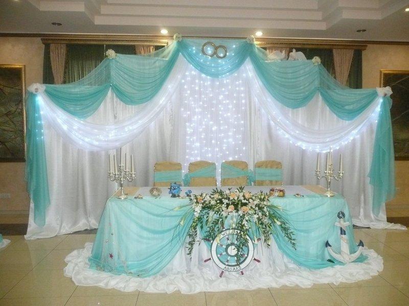 фото украшения свадебного зала