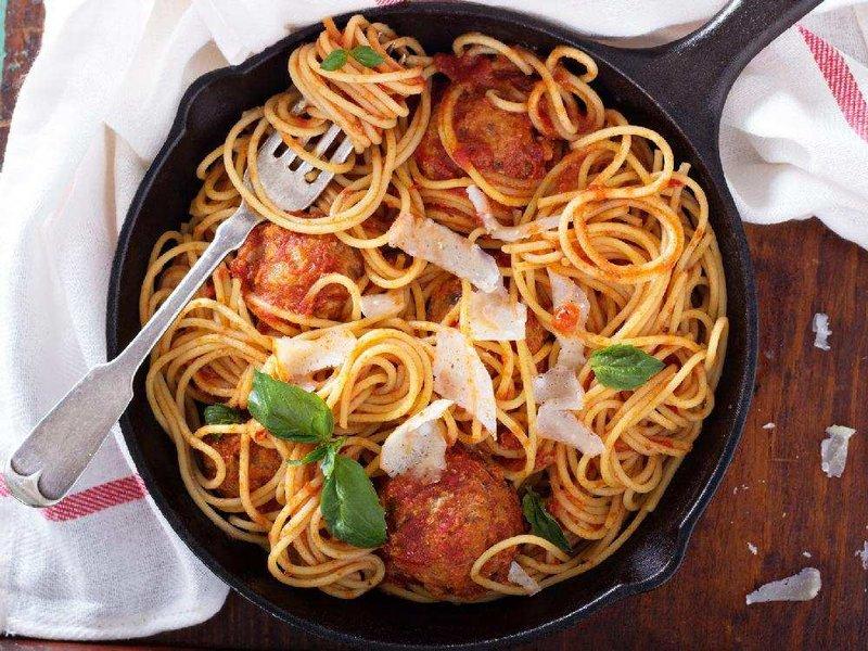 Вкусные спагетти рецепт с фото