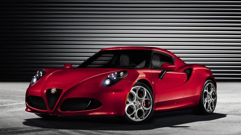 16. Alfa Romeo 4C    2013