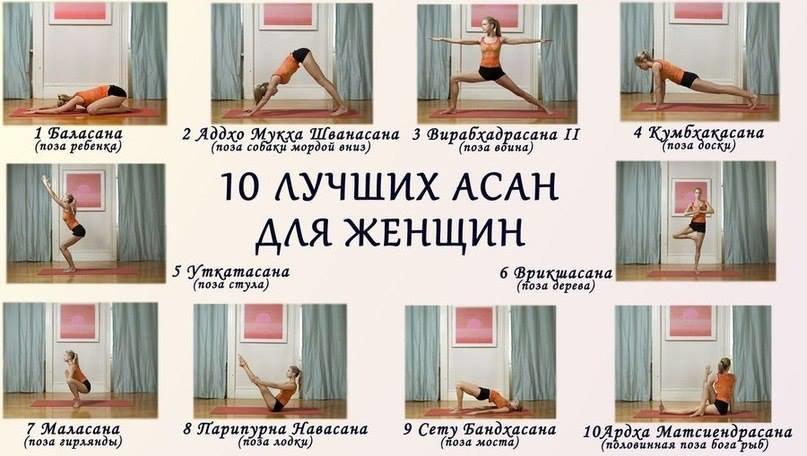 Название йоги для похудения