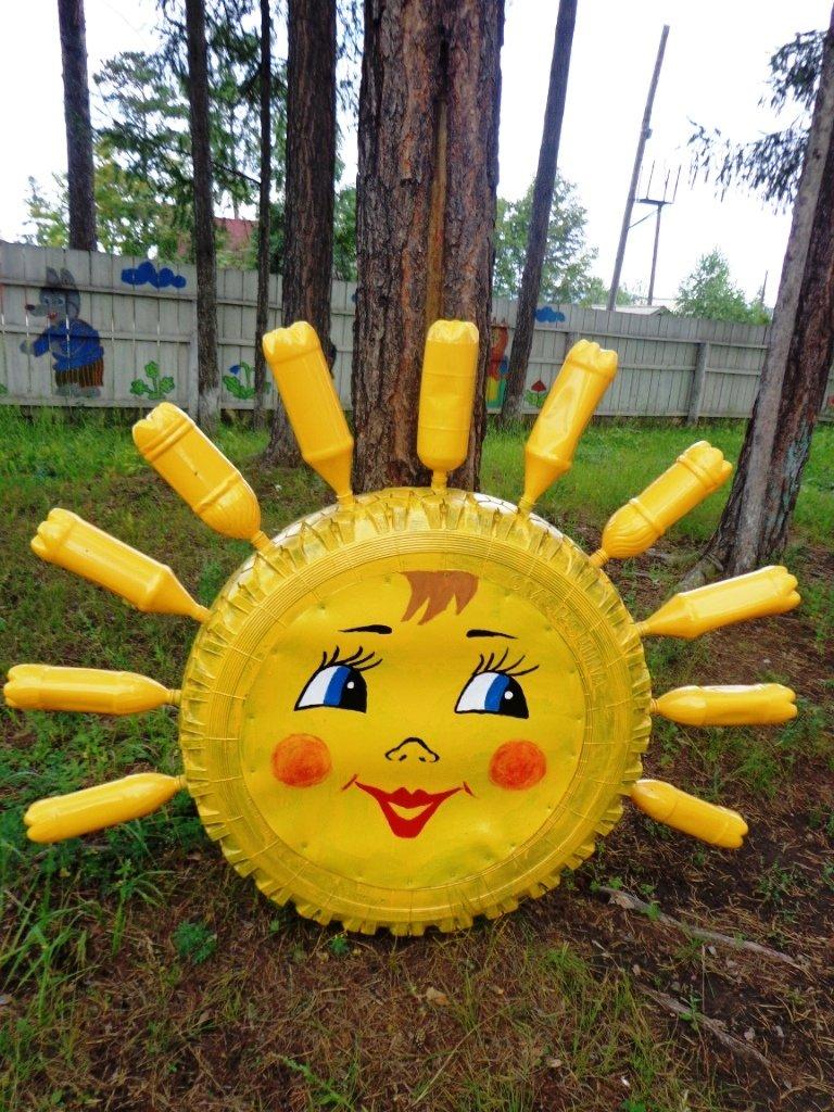Поделка солнце своими руками для садика