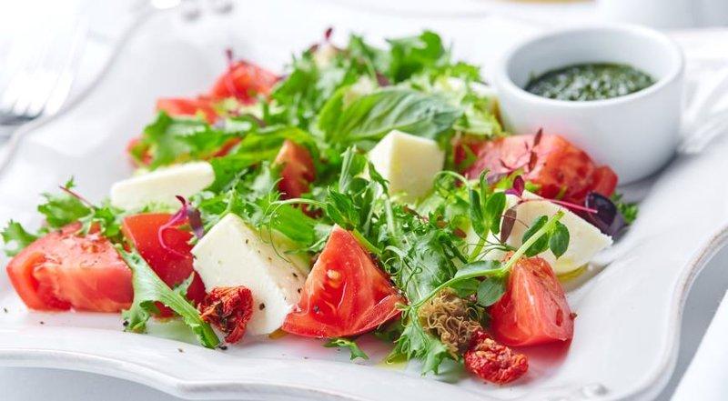 Моцарелла рецепты салатов с фото