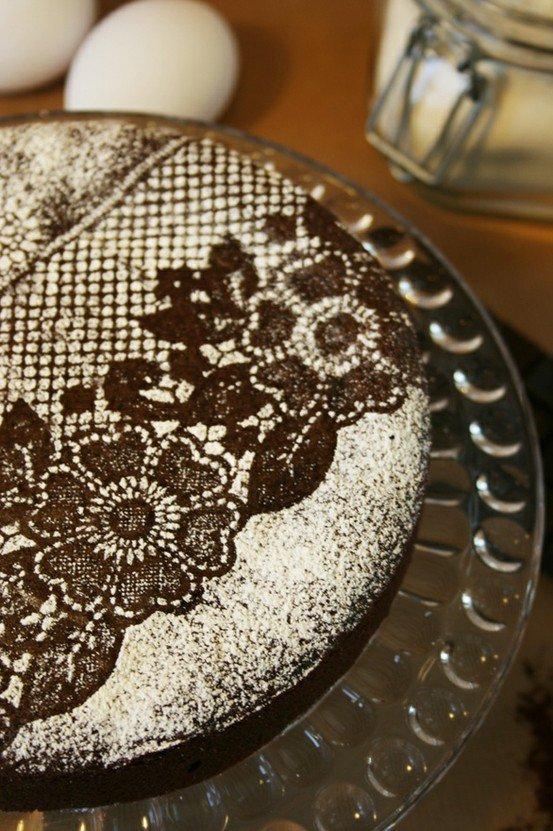 Украшаем торт вручную фото
