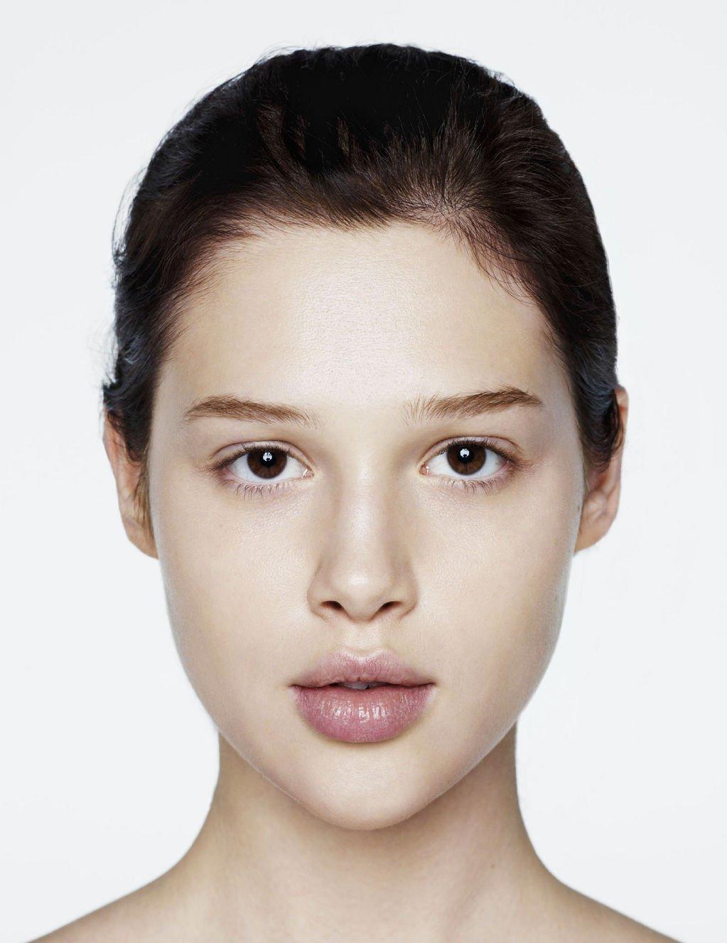 Открытка добрым, картинки женского лица без макияжа