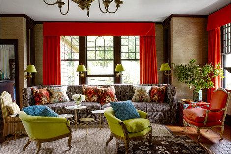 Дом, оформленный американским дизайнером Джеффри Билхьюбер
