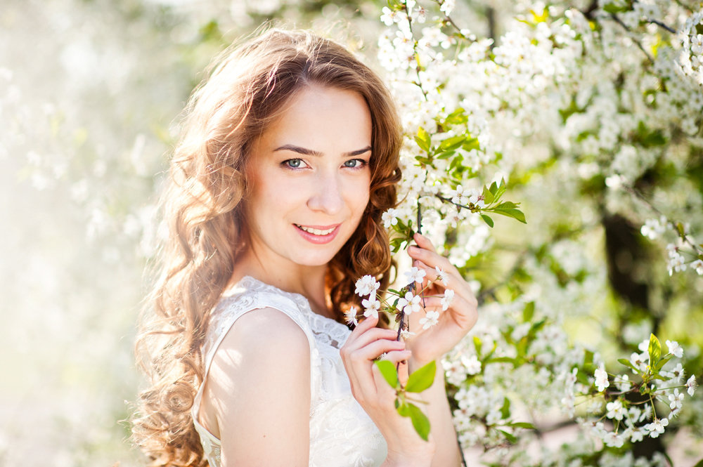 дом ваш цветущие яблони фотосессия освежающие веселые