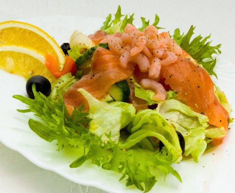 рыбные блюда рецепты с фото салаты мебель может быть