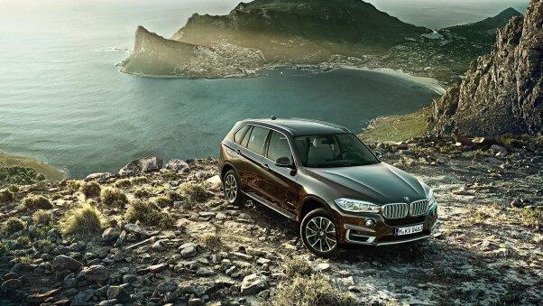 BMW X5 у горах