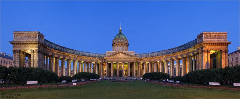 Казанский соборю А.Н. Воронихин. 1801-1811. Санкт-Петербург