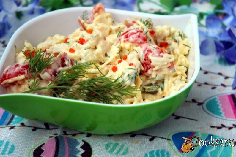 Морской коктейль маринованный салат с фото