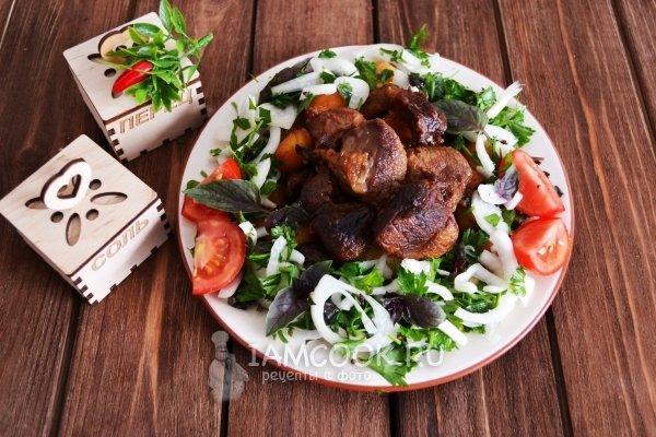 Проверенный рецепт приготовления казан-кебаба с картошкой по-узбекски,