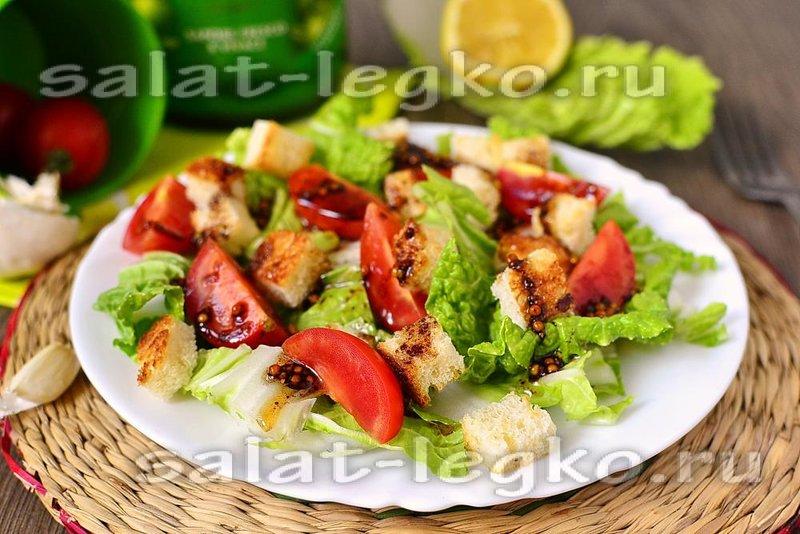 Популярные рецепты салатов фото
