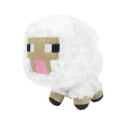 Плюшевая игрушка в виде овцы из Майнкрафт 18см