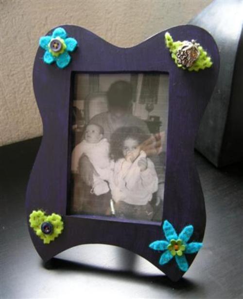 Цветочная фото рамка