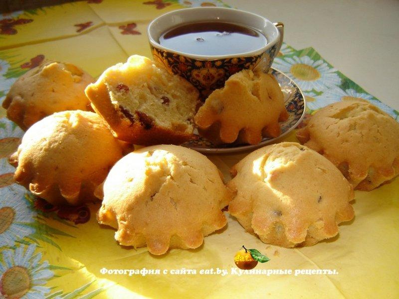 Кексы изюмом пошаговый рецепт фото