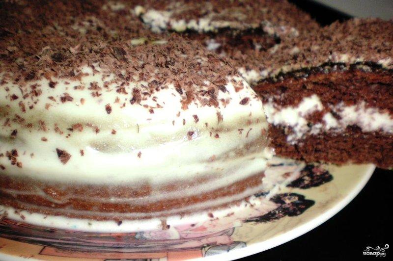 Как приготовить торт сметанник с фото