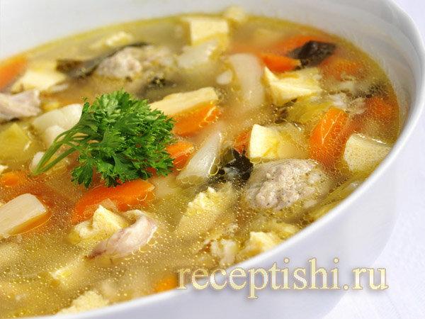 Рецепты супов с фото простые с курицей