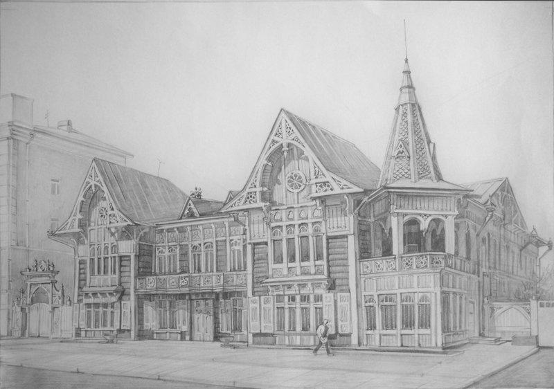 Рисунок архитектура и дизайн