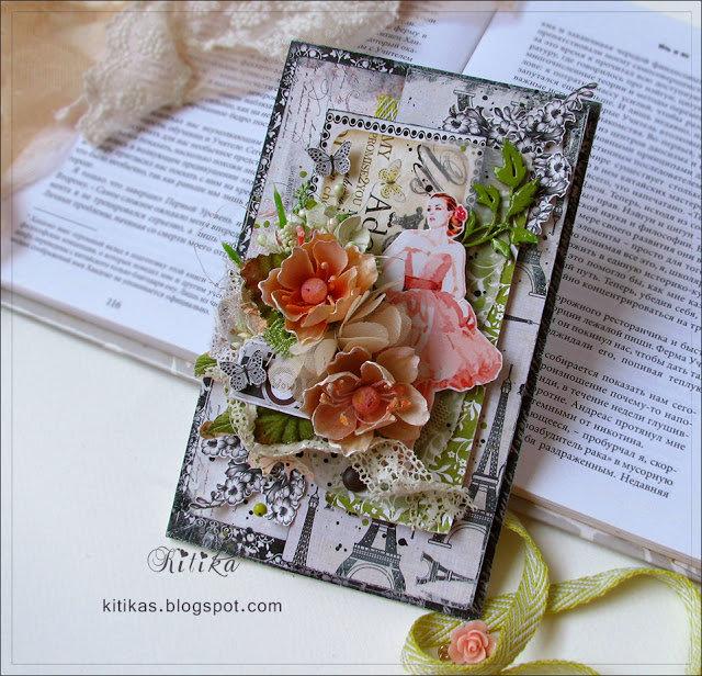 Красивые открытки ручной работы и скрабукинг