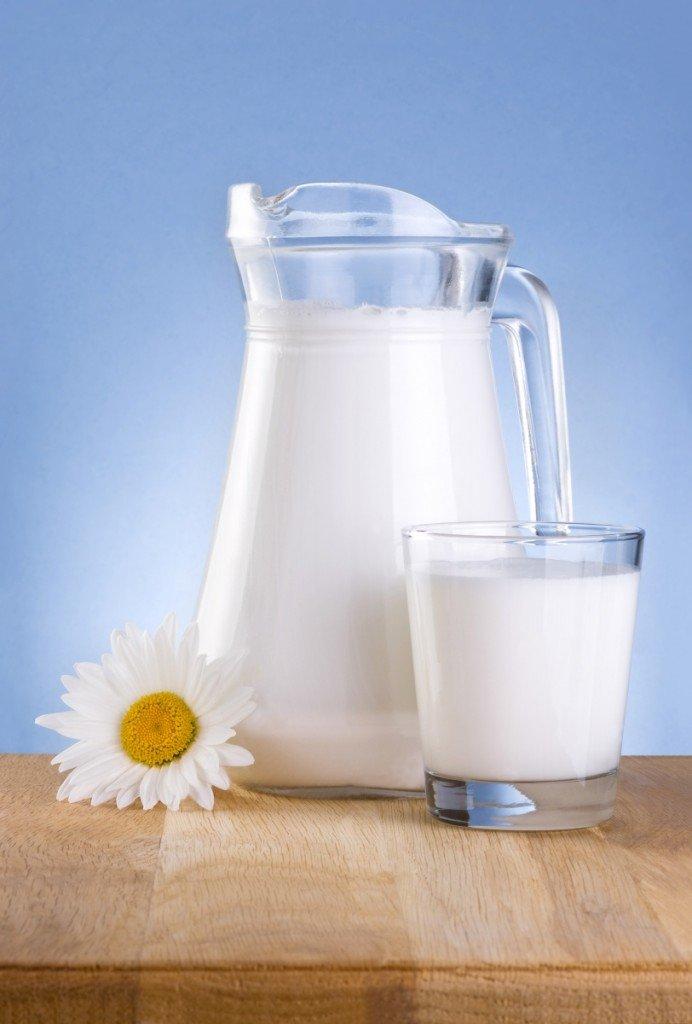 фото стакан молока