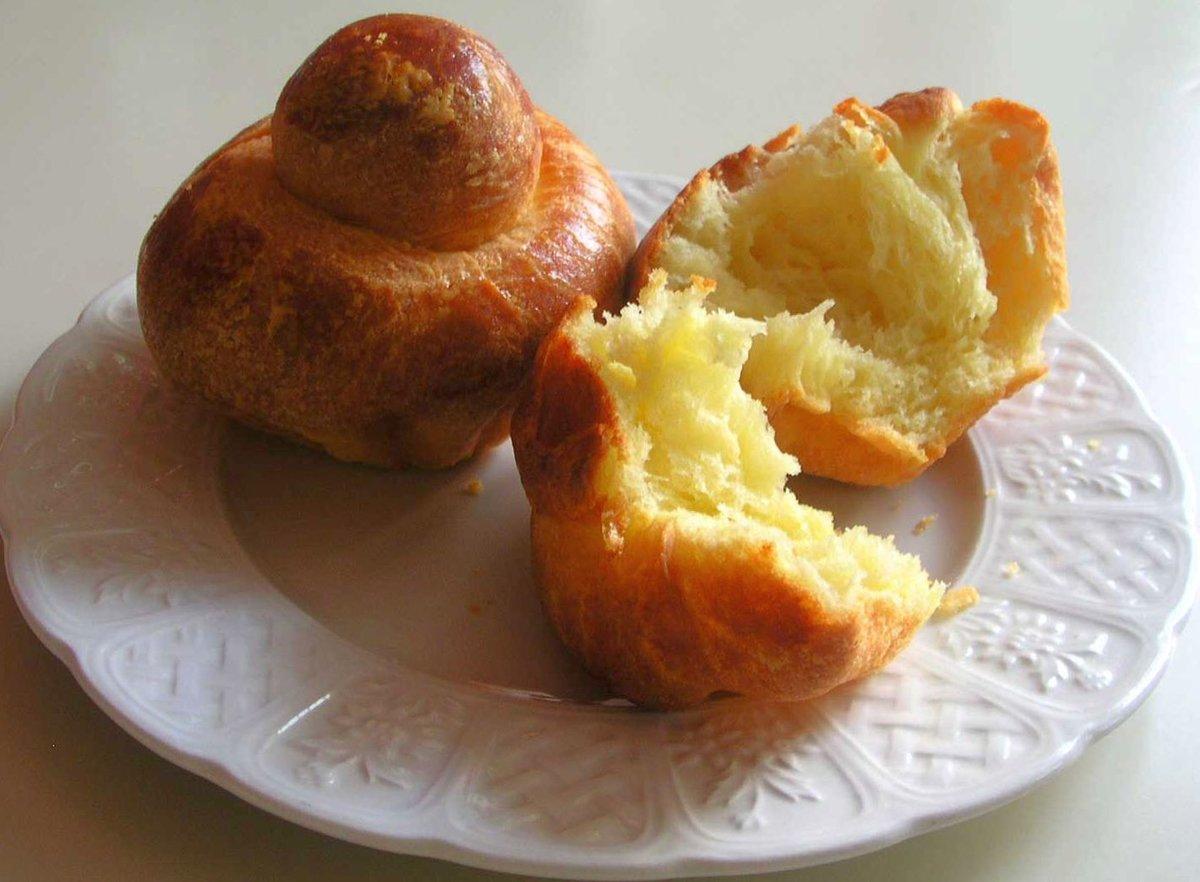 Французские булочки бриошь рецепт с фото