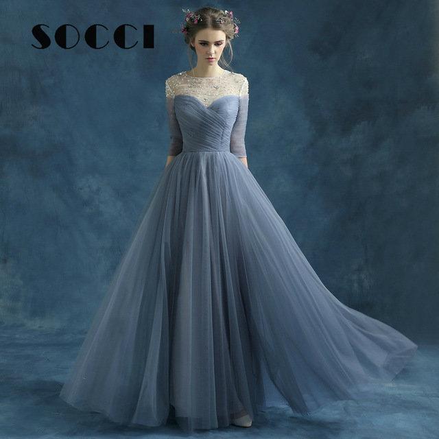 Обычные вечерние платье