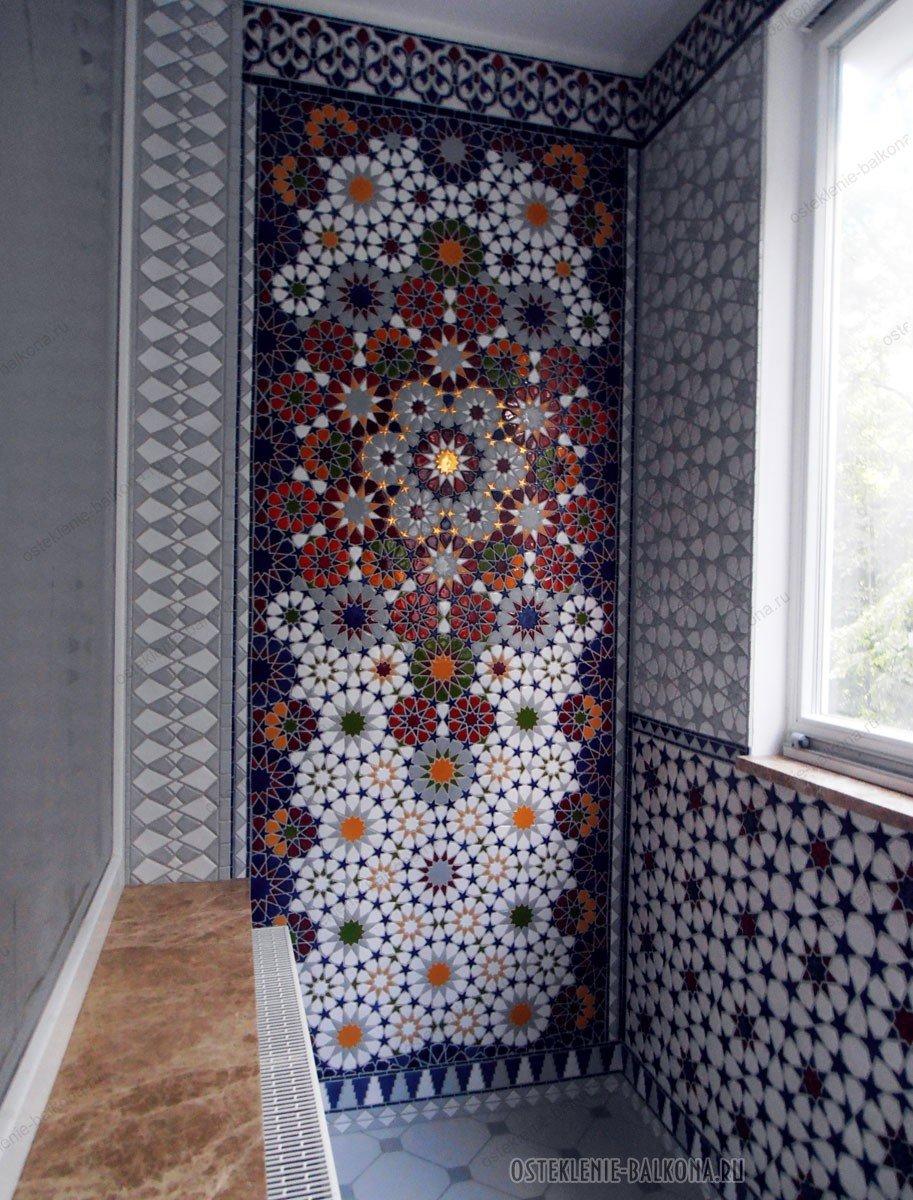 """Яркая мозаика в оформлении балкона"""" - карточка пользователя ."""