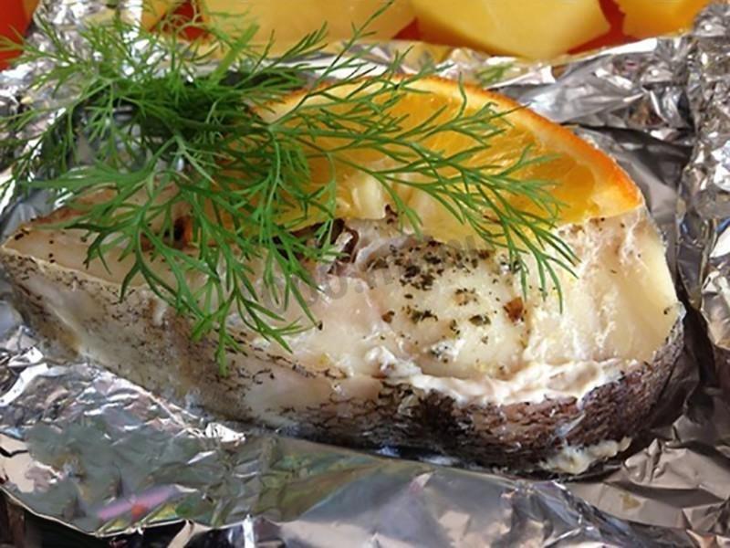 стейк трески в духовке рецепты с фото