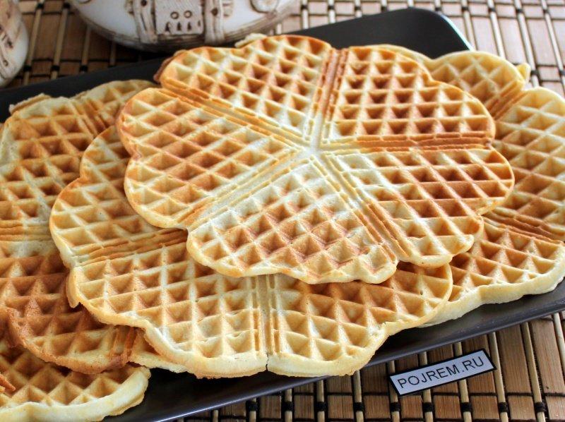 Венские вафли в электровафельнице: рецепт с фото 36