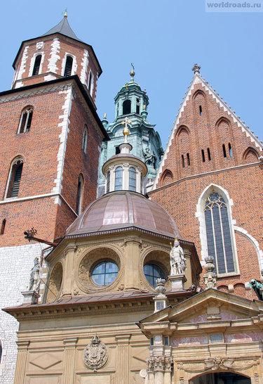 вавельский собор архитектура