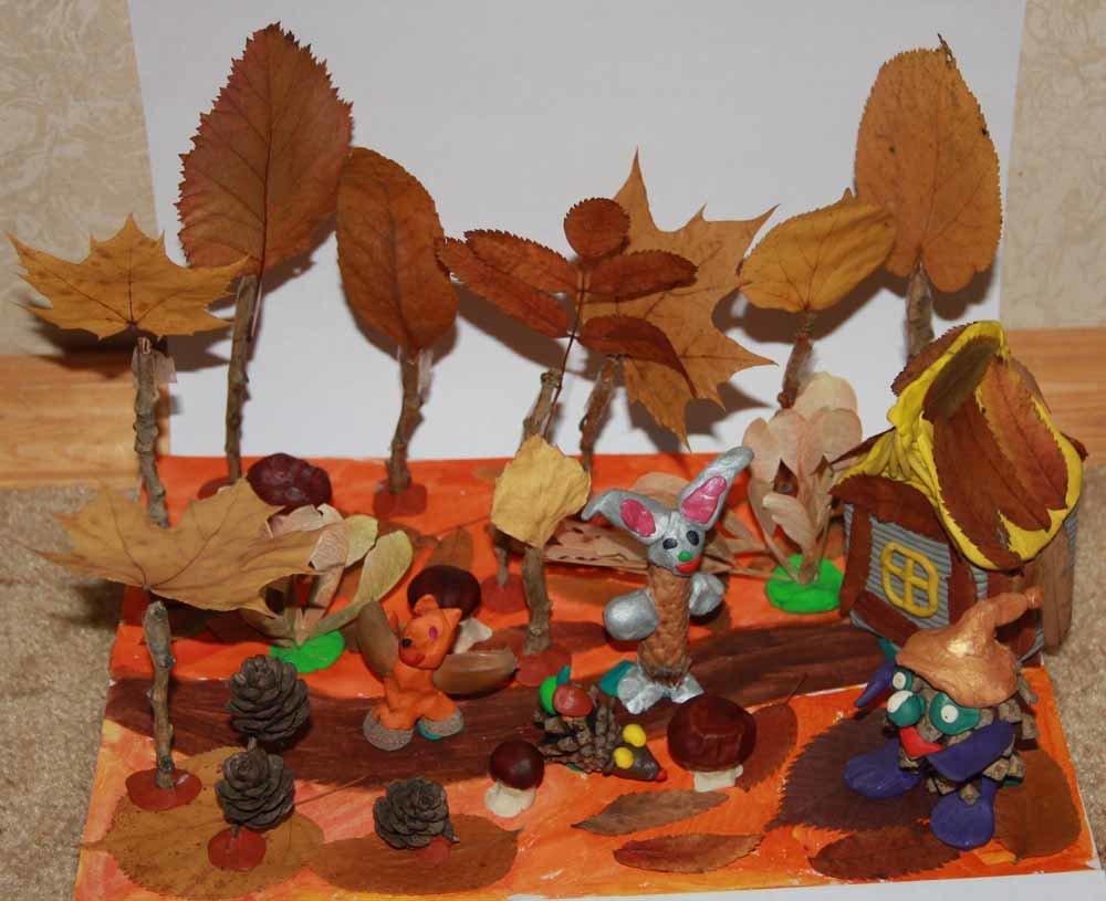 Осенние листья из пластилина. Поделки Pinterest Осенние 78