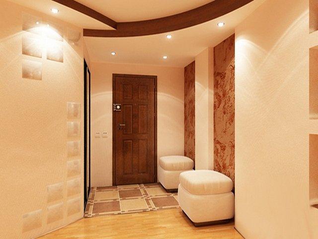 Тюль цвет стен в маленьком коридоре сохраняет
